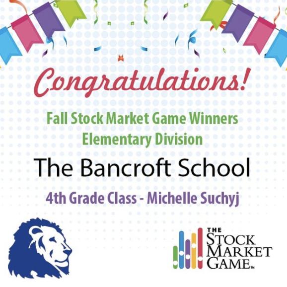 The Bancroft School Wins Fall Stock Marketing Game - Michelle Suchyj