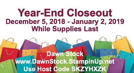 2018 Year End Closeout