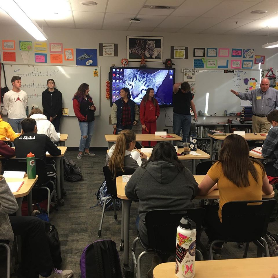 REWARD Club @ DT Guest Presenter Drew Aguilar-Carson Valley Accounting having DT Business Class Junior Achievement Students discuss their ideas of becoming future business owners. Your success is our REWARD