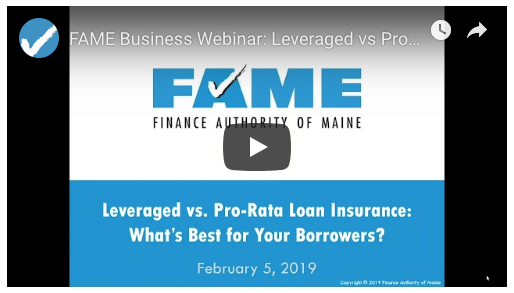 FAME Webinar: Pro-Rata vs. Leveraged Loan Insurance