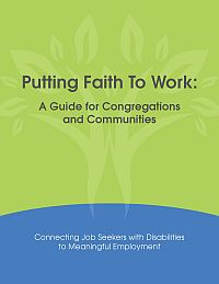 Cover of Putting Faith to Work manual