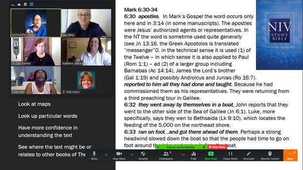 Zoom screen of Interpreters Academy