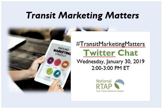 Transit Marketing Matters Twitter Chat Infographic