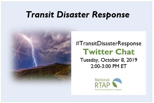 Transit Disaster Response Twitter Chat Information