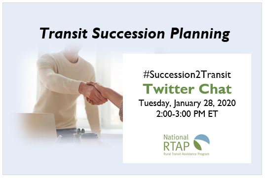 Transit Succession Planning Twitter Chat Inforgraphic