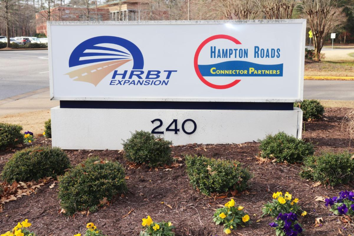 Sign outside of headquarters