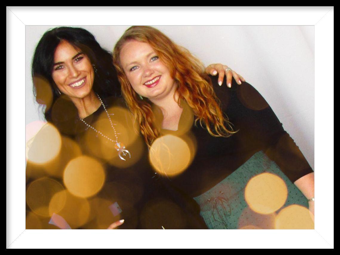 Two women - owner of Prarie Sky Jewelry Co. in Pawhuska, Oklahoma