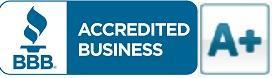 A+ Rating from Better Business Bureau