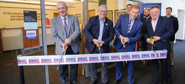 LSBDC ribbon cutting