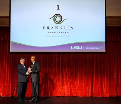 LSU 100 2017 winner and Dean Richard White