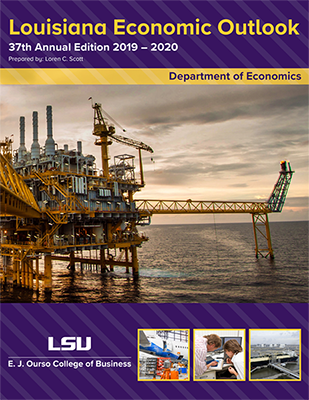 cover of the 2019-20 Louisiana Economic Outlook
