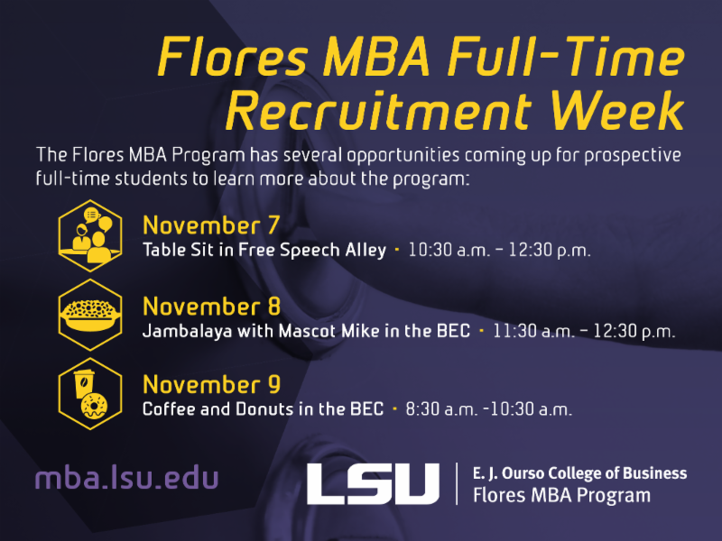 Flores MBA recruitment