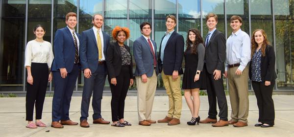 2018 Entrepreneurship Fellows Outside