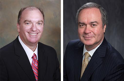 Edmund Giering IV and Rolfe McCollister Jr. head shots