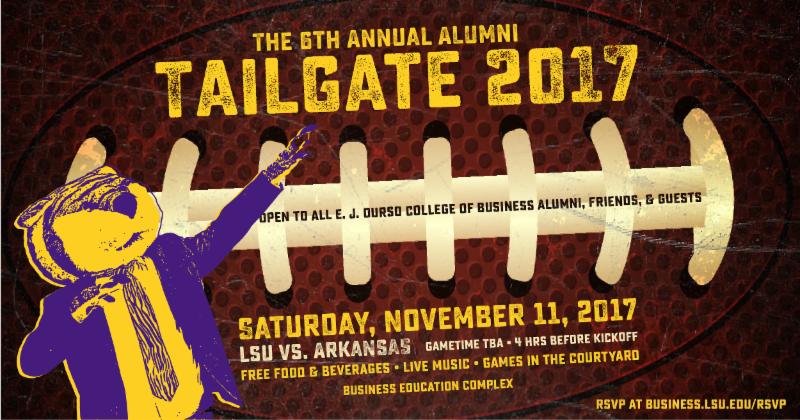 Nov. 11 alumni tailgate