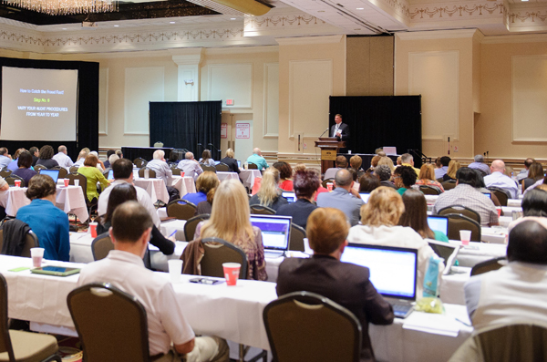 Fraud and Forensic Accounting Conference attendees in session