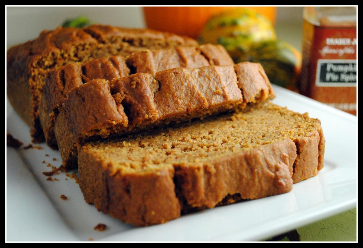 Pumpkin ginger bread