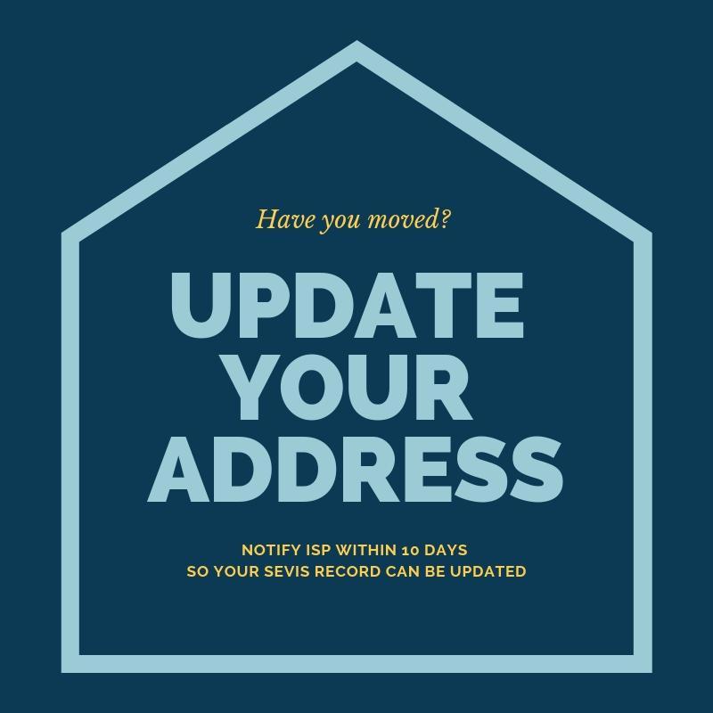 Update your U.S. address