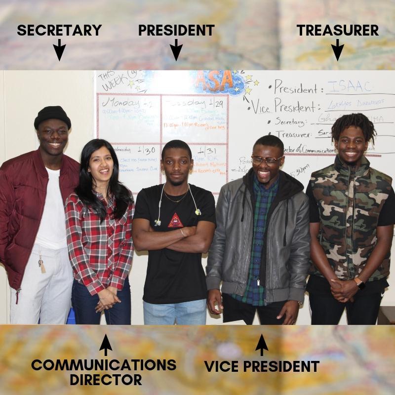 New International Club leadership