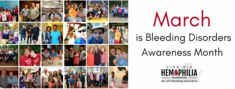 Bleeding Disorders Awareness Banner