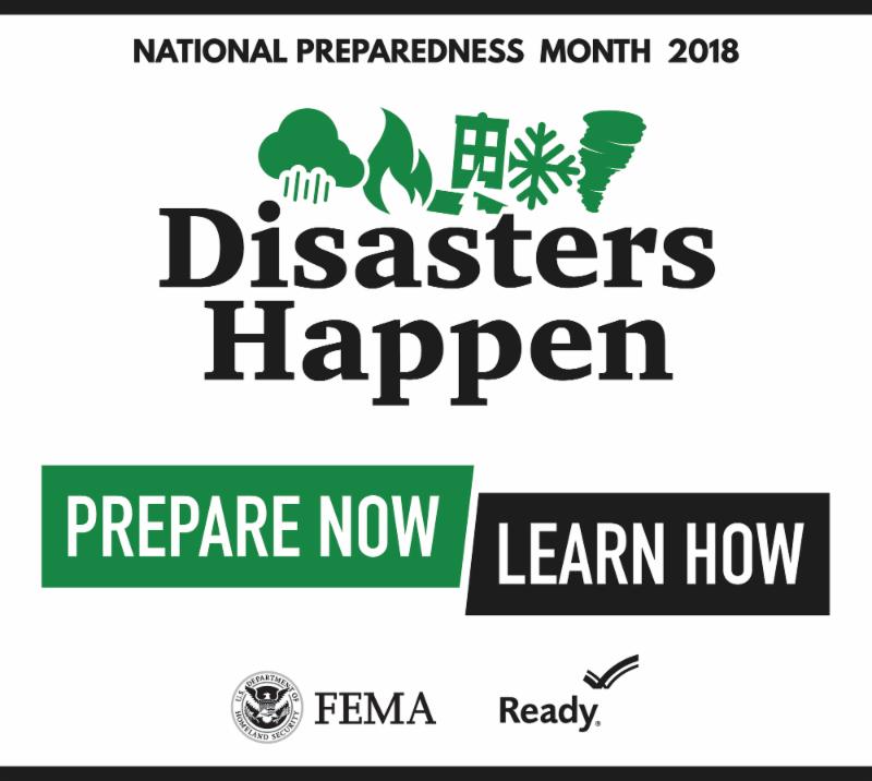Disaster Preparedness Banner