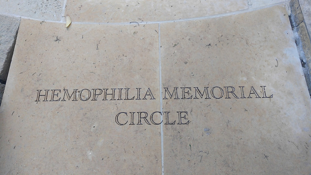 Hemophilia Memorial Circle