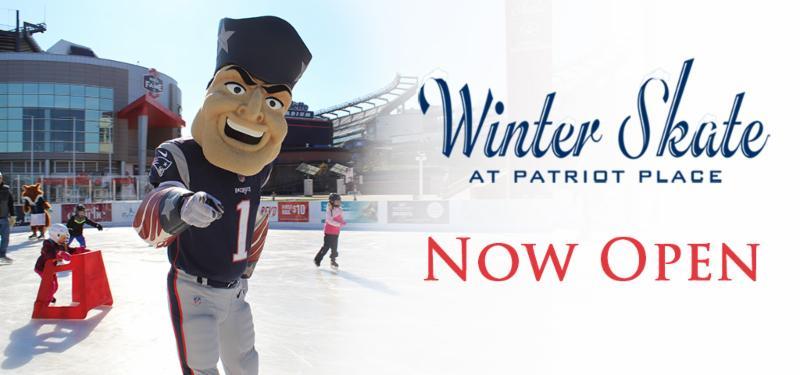 Skating & Dinner at Patriot Place @ Patriot Place