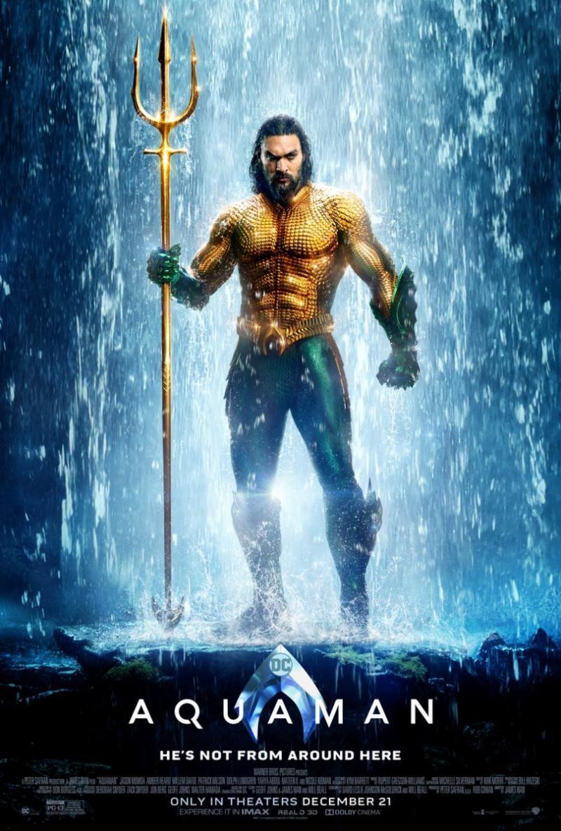 Monthly Movie & Dinner - Aquaman @ Showcase Cinema