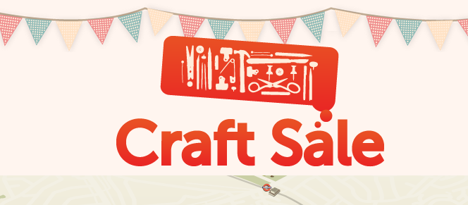 Have You Heard About My Craft Supplies Garage Sale
