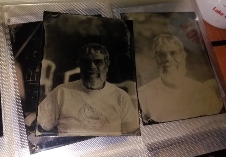 Tintype of Br. Guy created by Chris Olsen