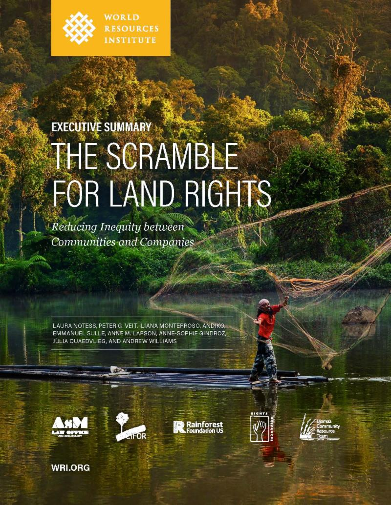 wrireport scramble land rights