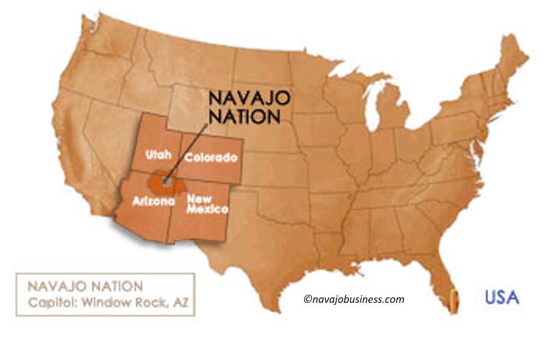 usmap navajo map