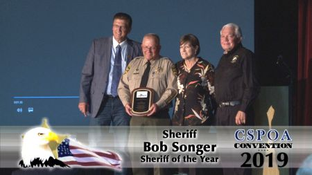 Sheriff Bob Songer - Sheriff of the Year