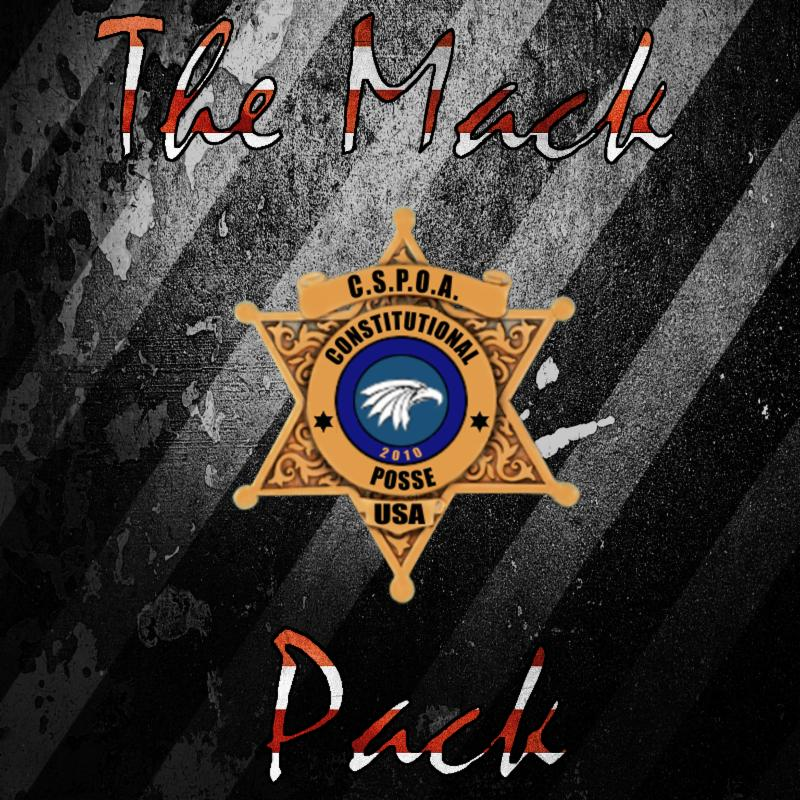 CSPOA Shop - The Mack pack