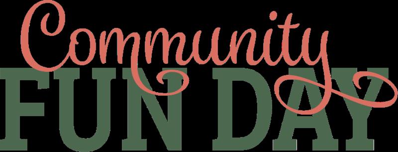 Community fun day title image