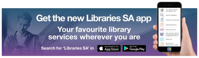 Libraries SA app image