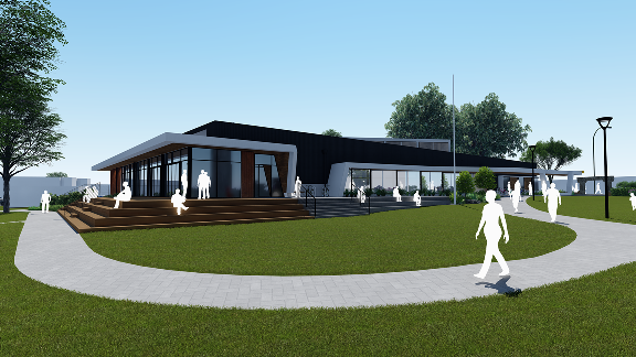 photo of new library