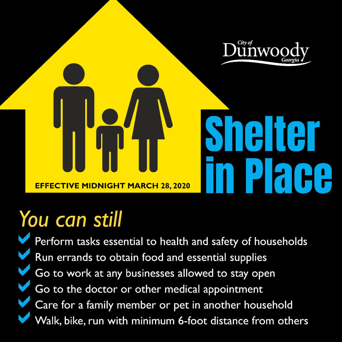 details of shelter in place order
