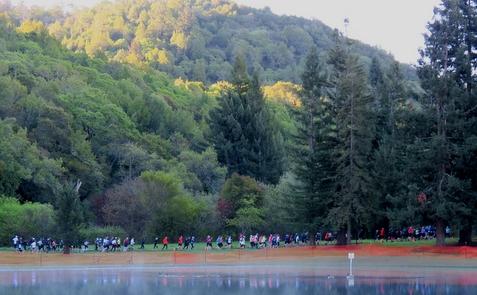 Annadel Half Marathon at Spring Lake