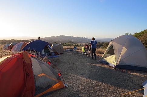 North Sonoma Mountain campout