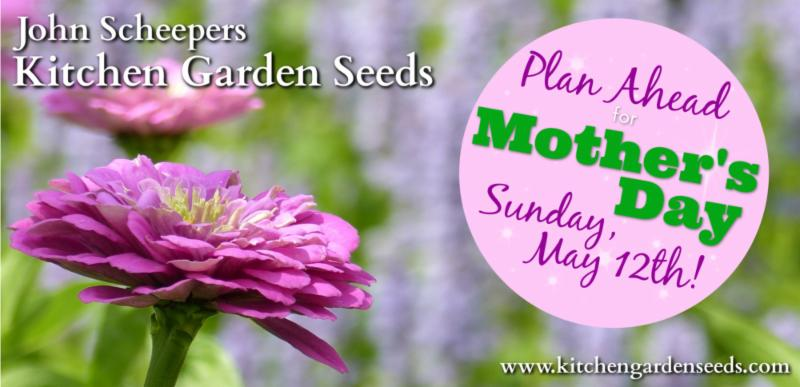 Plant a Garden for Mother's Day!