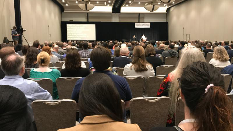 CSUN keynote address audience