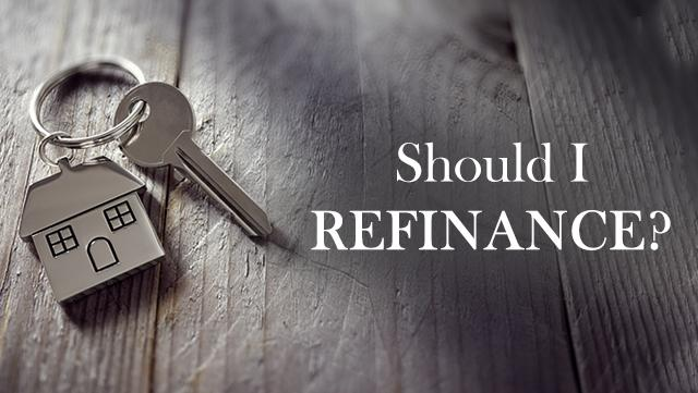 Should I refinance_