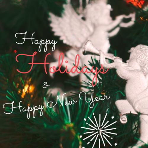 Happy Holidays - Happy New Year