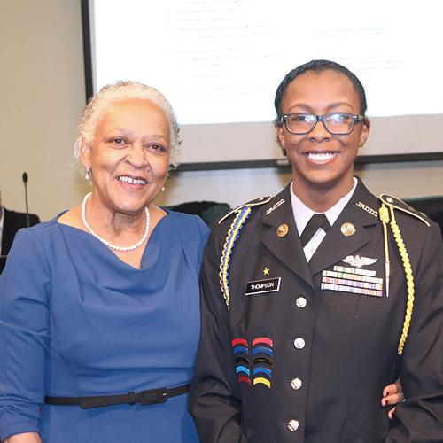 Jeanne Hairston and Ramiyah Thompson