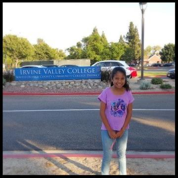 Serrano student Norma Cortez