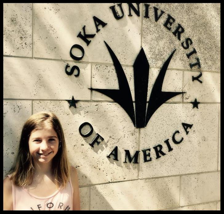 Serrano student Megan Ringer