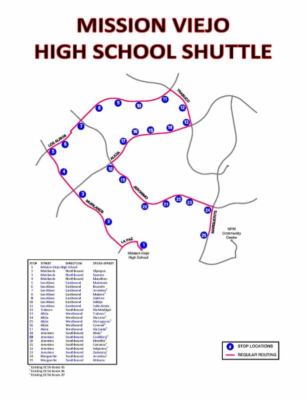 City of MV Shuttle Bus Routes