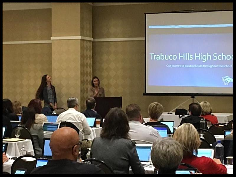 THHS staff present at CA state SELPA meeting