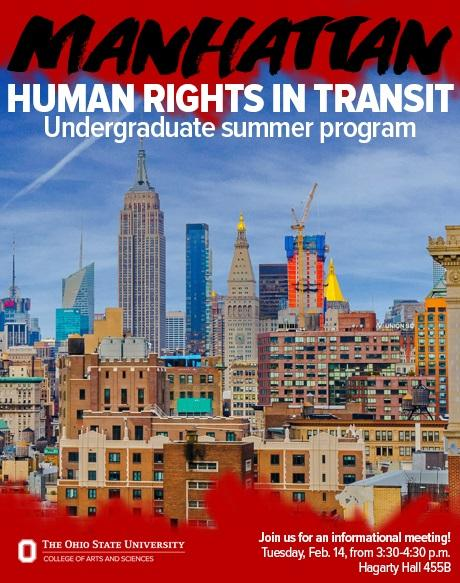 Human Rights in Transit Flyer